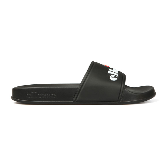 Ellesse Mens Black Filippo Slide main image