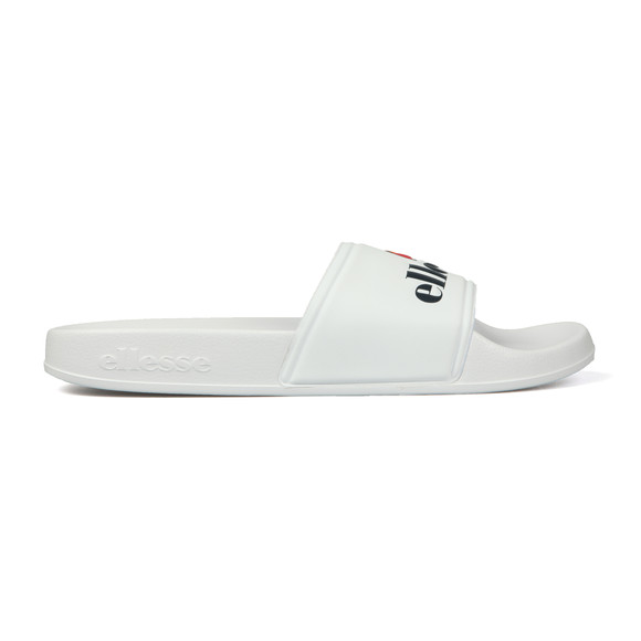 Ellesse Mens White Filippo Slide main image