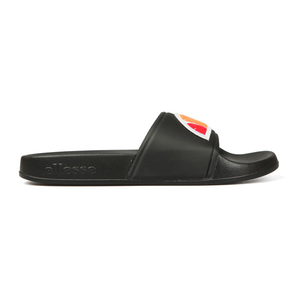Ellesse Mens Black Filippo Badge Slide