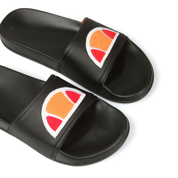 Ellesse Mens Black Filippo Badge Slide main image