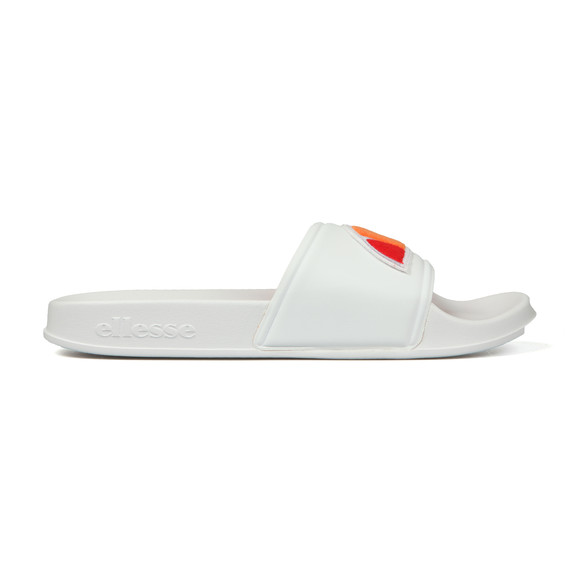 Ellesse Mens White Filippo Badge Slide