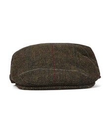 Barbour Lifestyle Mens Green Crieff Country Tweed Cap