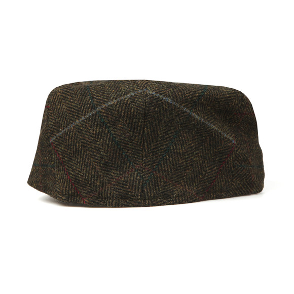 Barbour Lifestyle Mens Green Crieff Country Tweed Cap main image