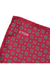 Eton Mens Pink Pocket Square
