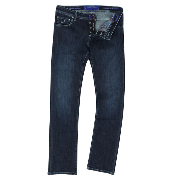 Jacob Cohen Mens Blue J622 Special Edition Jean main image