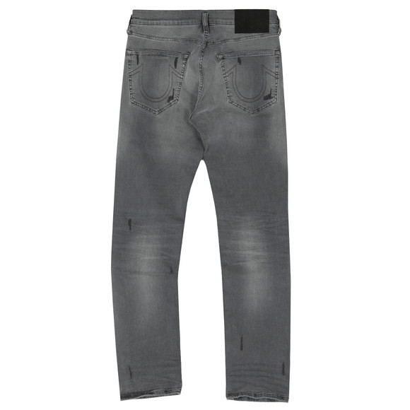 True Religion Mens Grey Rocco Traditional With Patches Jean main image