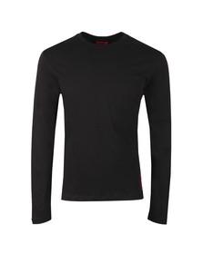 HUGO Mens Black Dasile T Shirt