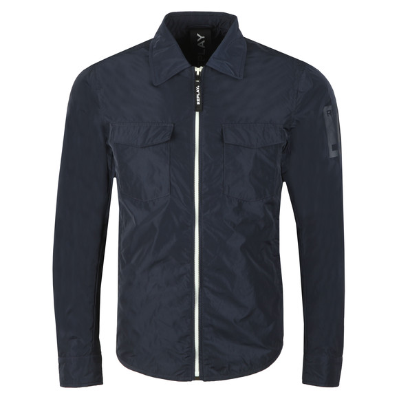 Replay Mens Blue Lightweight Jacket main image