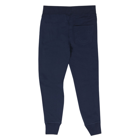 True Religion Mens Blue Double Puff Cuffed Sweatpant main image