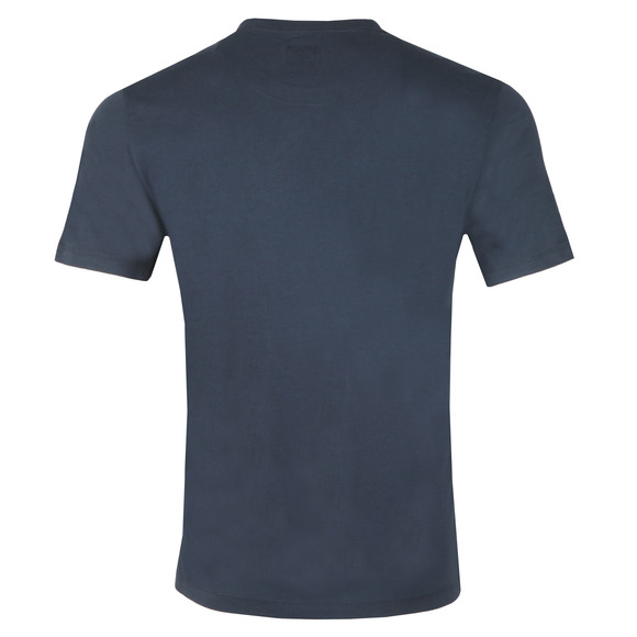 C.P. Company Mens Blue Logo T Shirt main image