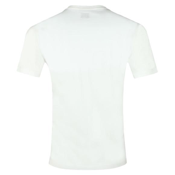 C.P. Company Mens White Reflective Logo 019 T Shirt main image
