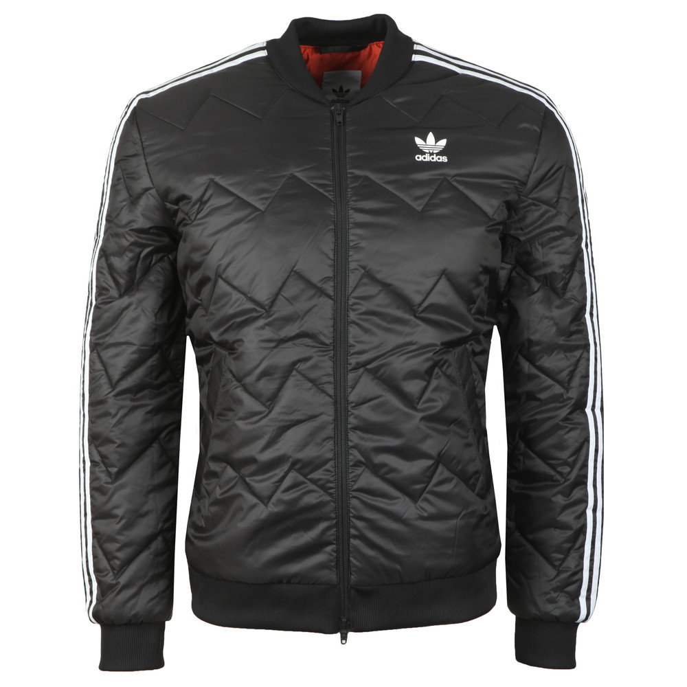 adidas Originals Mens Black SST Quilted Jacket cbfabb0d4e