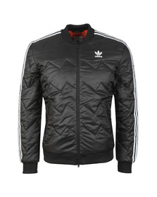 adidas Originals Mens Black SST Quilted Jacket