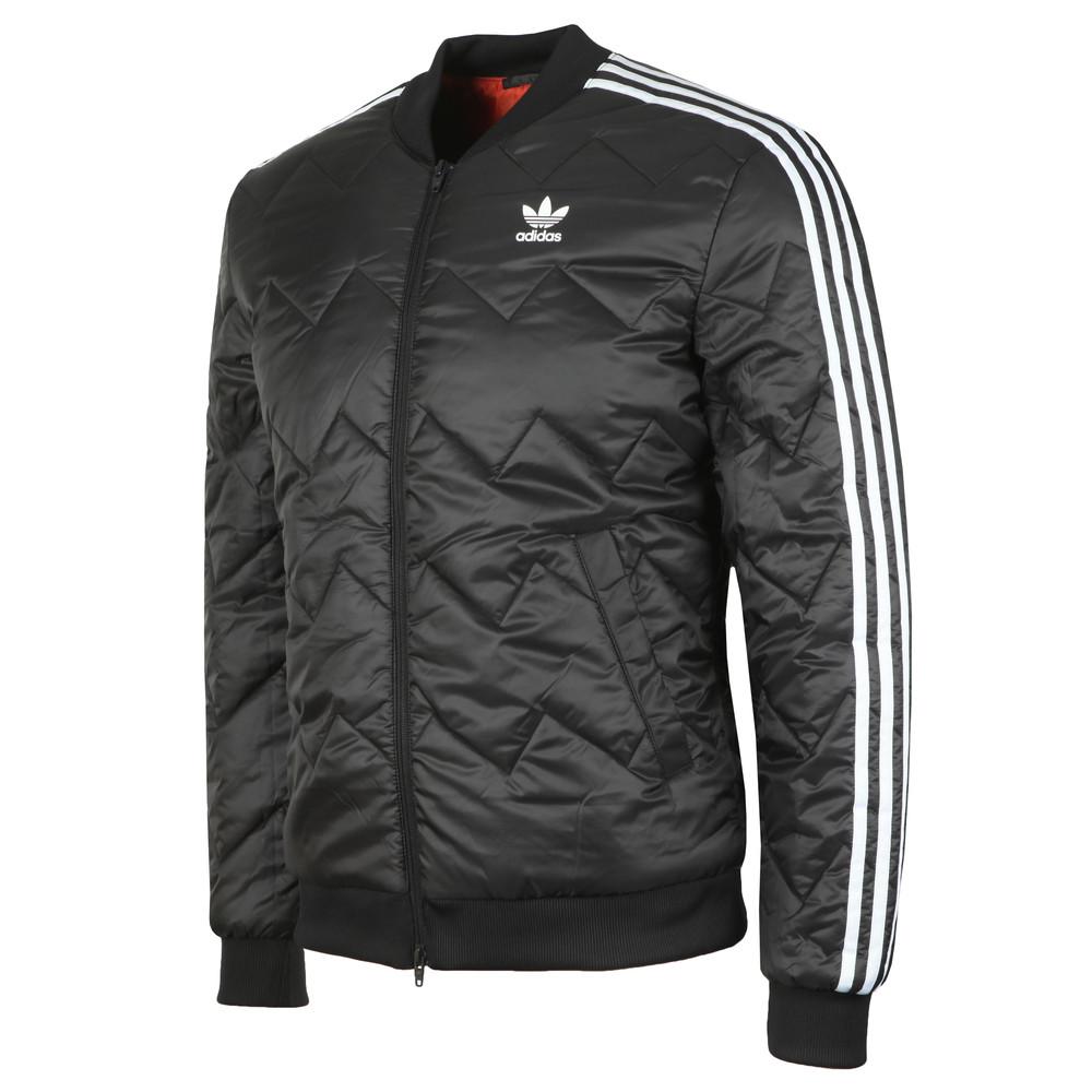 Mens Black SST Quilted Jacket