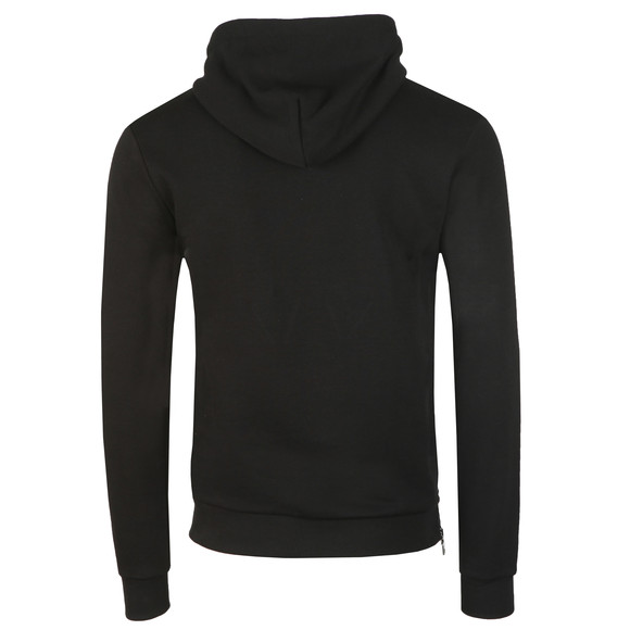 Millionaire Homme Mens Black Patchwork Hoody main image
