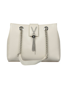 Valentino by Mario Womens Off-White Ranma Tote