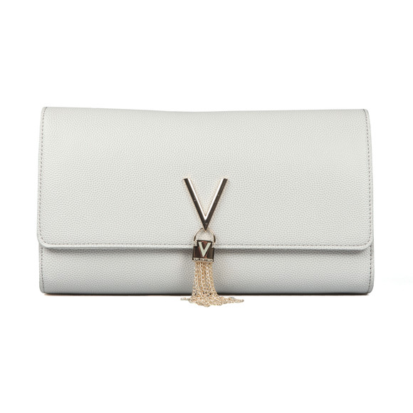 Valentino by Mario Womens Silver Divina Clutch main image