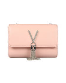 Valentino by Mario Womens Pink Ranma Small Clutch