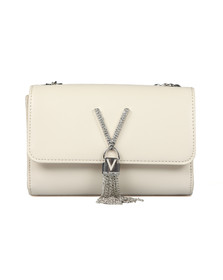 Valentino by Mario Womens Off-White Ranma Small Clutch