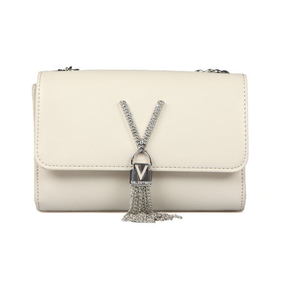 Valentino by Mario Womens Off-White Ranma Small Clutch main image