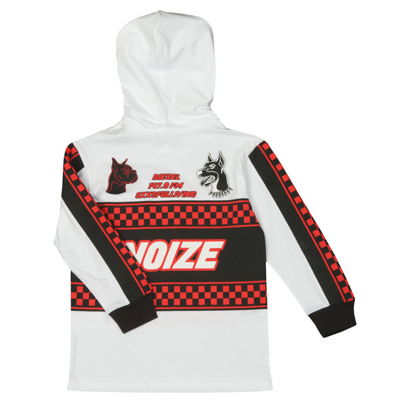 Diesel Boys White Prodigy Overhead Hoody main image