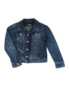 Diesel Boys Blue Jaffy Denim Jacket
