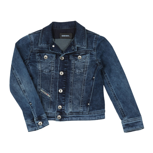 Diesel Boys Blue Jaffy Denim Jacket main image