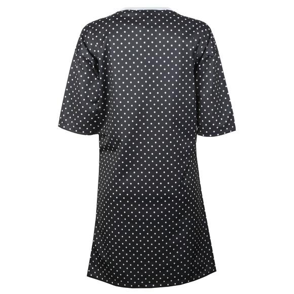 adidas Originals Womens Black Spotted T Shirt Dress main image