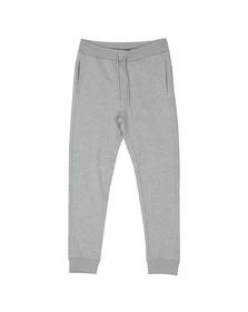 Love Moschino Mens Grey Printed Peace Logo Sweatpant