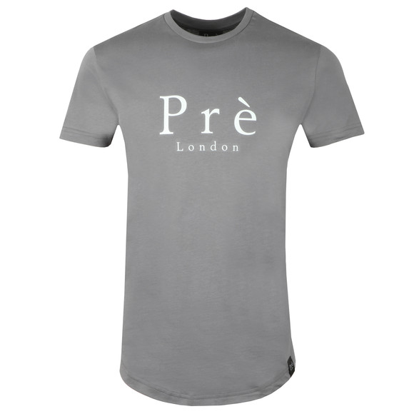 Pre London Mens Grey Signature T Shirt main image