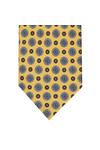 Eton Mens Yellow Flower Tie
