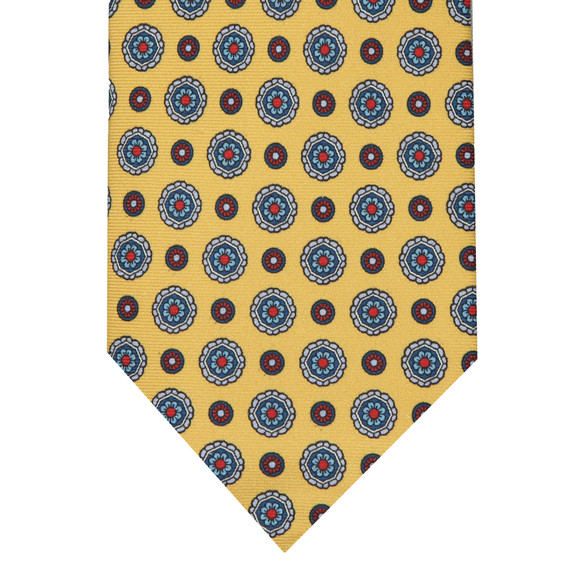 Eton Mens Yellow Flower Tie main image