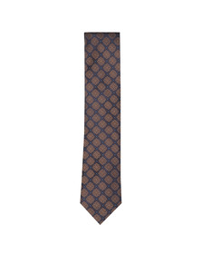 Eton Mens Brown Pattern Tie