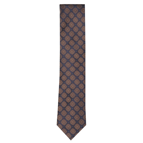 Eton Mens Brown Pattern Tie main image