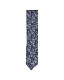 Eton Mens Purple Flower Tie