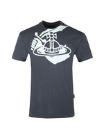 Mens Boxy Arm & Cutlass Print T Shirt