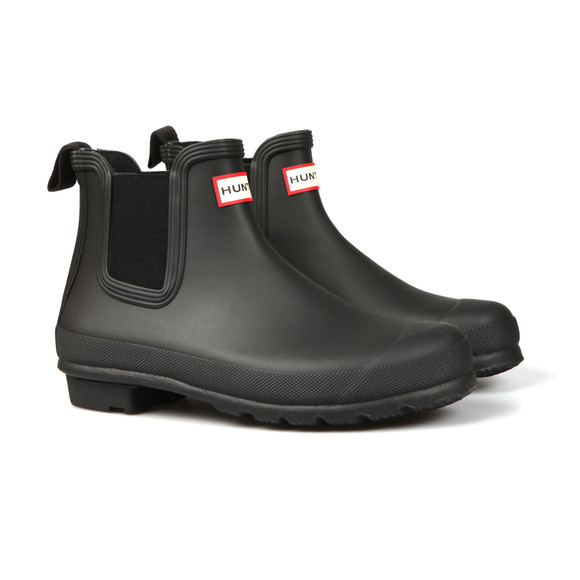 Hunter Womens Black Original Chelsea Boot main image