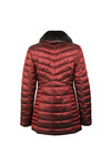 Barbour Lifestyle Womens Red Lomond Quilted Jacket
