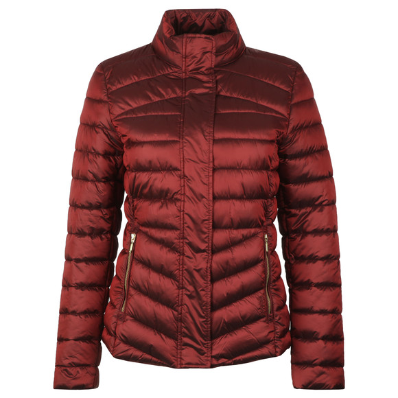 Barbour Lifestyle Womens Red Vartersay Quilted Jacket