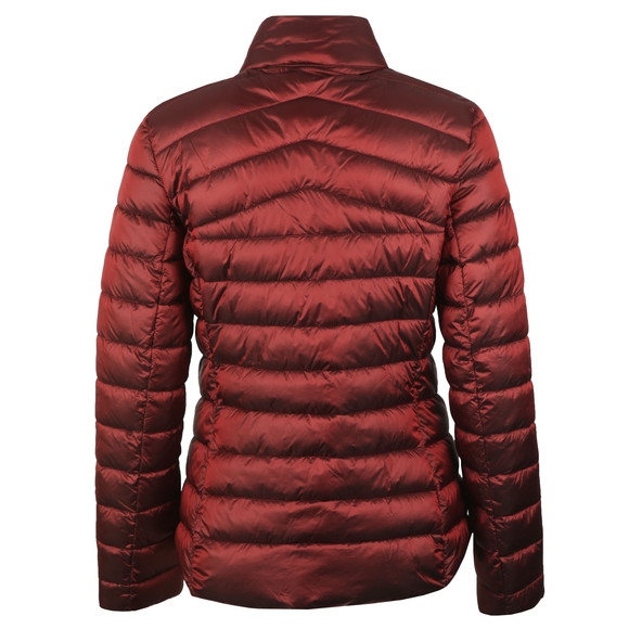 Barbour Lifestyle Womens Red Vartersay Quilted Jacket main image