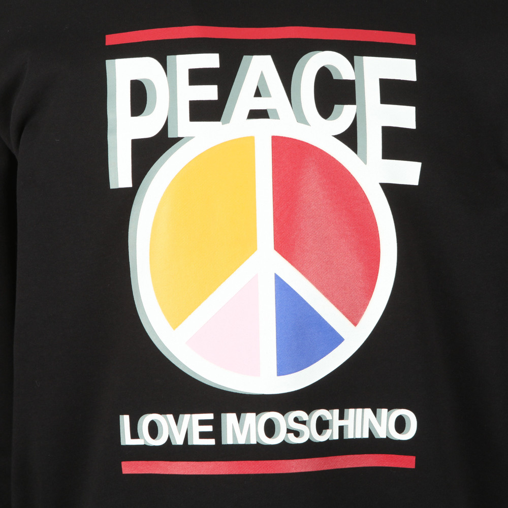 3D Peace Logo Sweatshirt main image