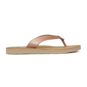 Tawney Metallic Flip Flop