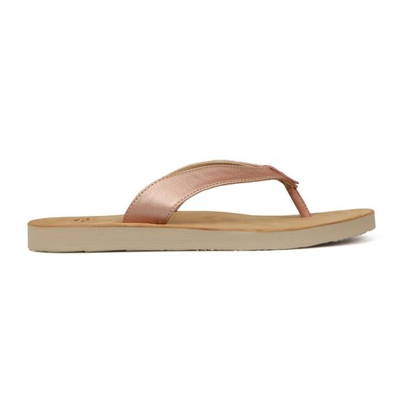 Ugg Womens Pink Tawney Metallic Flip Flop