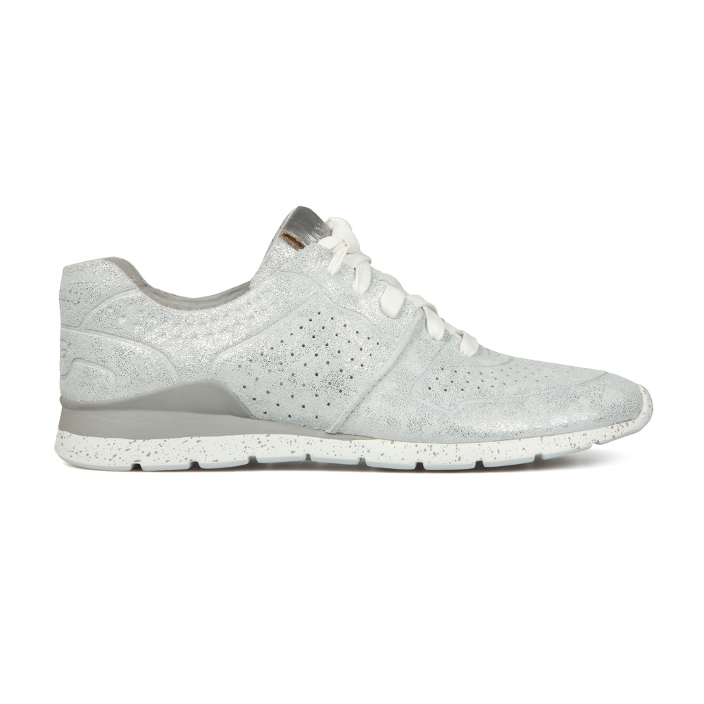 83a75c0bc77 Womens Silver Tye Stardust Trainer