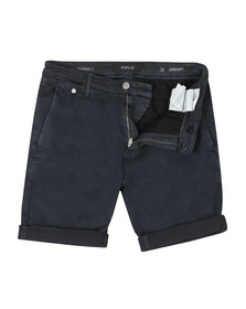 Replay Mens Blue Lehoen Hyperflex Short
