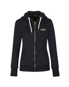 Superdry Womens Blue Orange Label Elite Ziphood