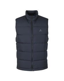 Gant Mens Blue The Panel Down Vest