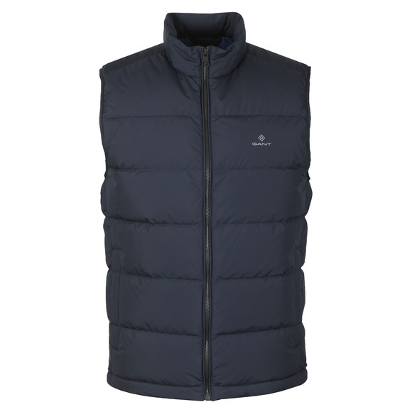 Gant Mens Blue The Panel Down Vest main image