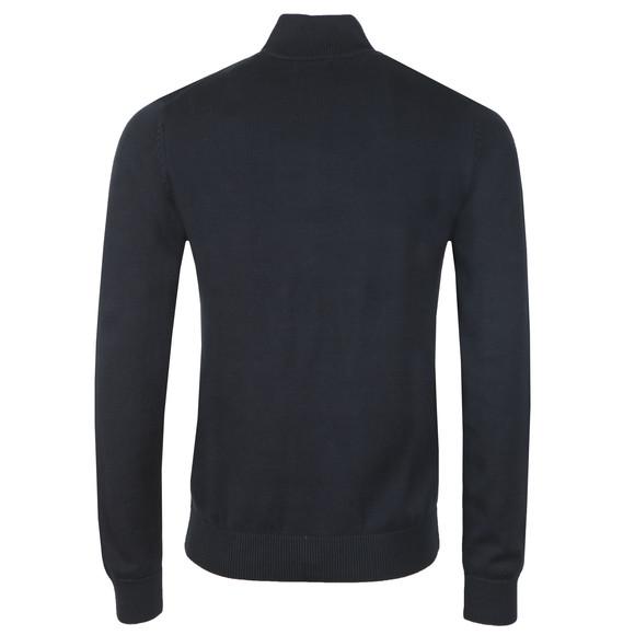 Gant Mens Blue Classic Cotton Half Zip main image