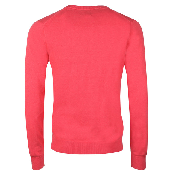Gant Mens Red V Neck Jumper main image